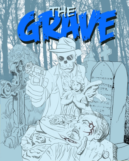 The Grave Cover pencils